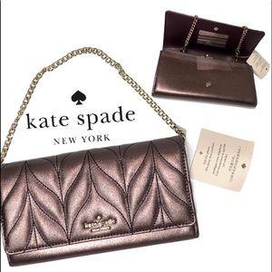 KATE SPADE Briar Lane Quilted Milou Clutch Bag